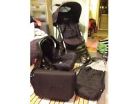 Graco travel system and baby items