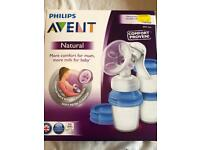 QUICK SALE- NEW AVENT MANUAL BREAST PUMP