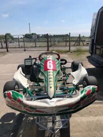 Junior rotax tonykart-IMMACULATE condition