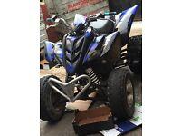 2009 YAMAHA RAPTOR 350cc road legal mint swap swop px bargain cheap