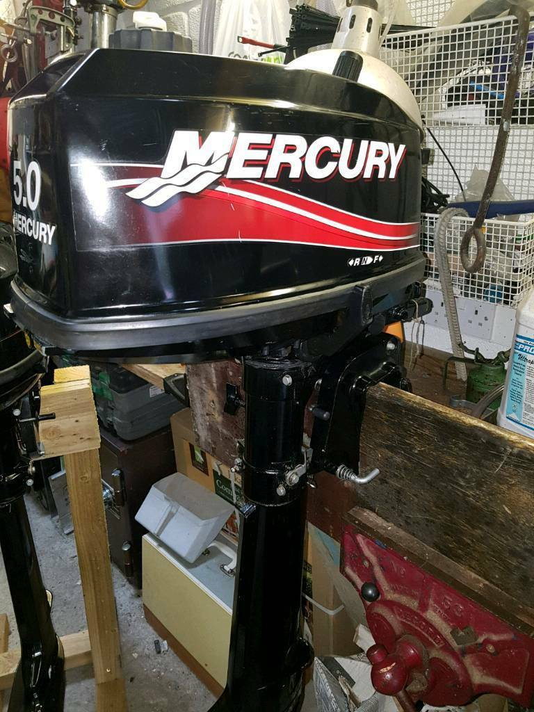 Mercury 5hp outboard