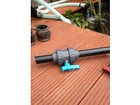 Ball valves for pond