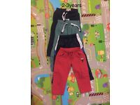 Boys trousers 2-3years