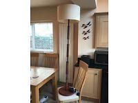 A David Hunt standard lamp