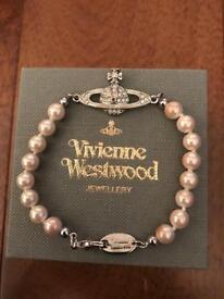 Vivienne Westwood Pearl Orb Bracelet