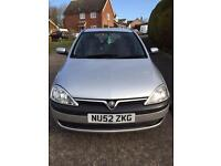 vauxhall corsa 1.2 for sale(2003)