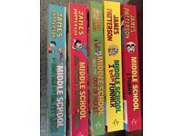 5 middle school books