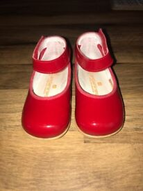 Andanines Red patent leather shoes