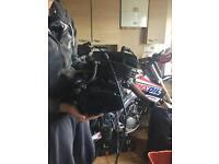 Blaster 200 engine
