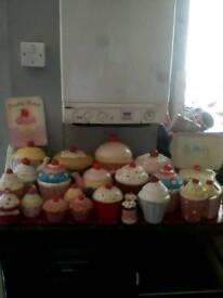 25 ornamental cupcakes & various
