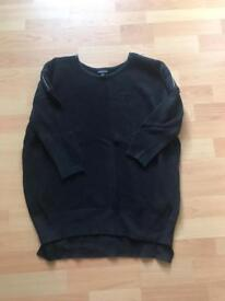 Warehouse black jumper S