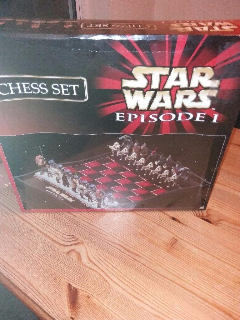 I have for sale Star Wars Episode 1 Chess Set BNIB still sealed