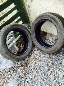2x Winter goodride tyres