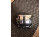 Classic mini Lucas chrome alternator