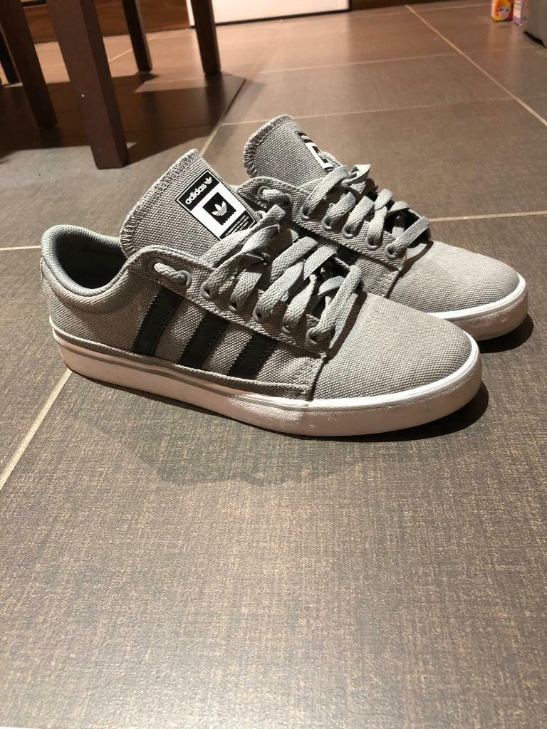 6460ad3cff7eae Adidas trainers- Men's size 8 - Grey with Black stripes | in County ...