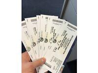 Premier League Darts Tickets x6 - MEN ARENA THURSDAY 26TH APRIL