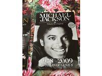 Michael Jackson limited edition tribute magazine. Clean unused condition.