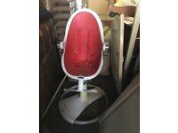 Bloom fresco red loft high chair