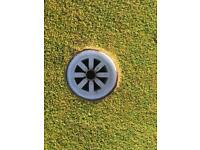 Putting green hole cups supplied and fitted