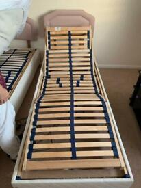 2 electric single beds