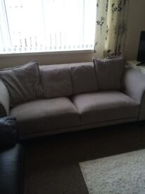 3 seater gray sofa