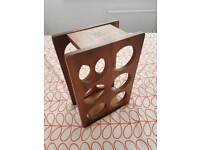 wooden wine holder for counter top