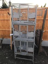 montana triple breeding cage very good