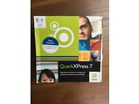 Quark XPress7 & 8 - (6 discs in total all in excellent condition)