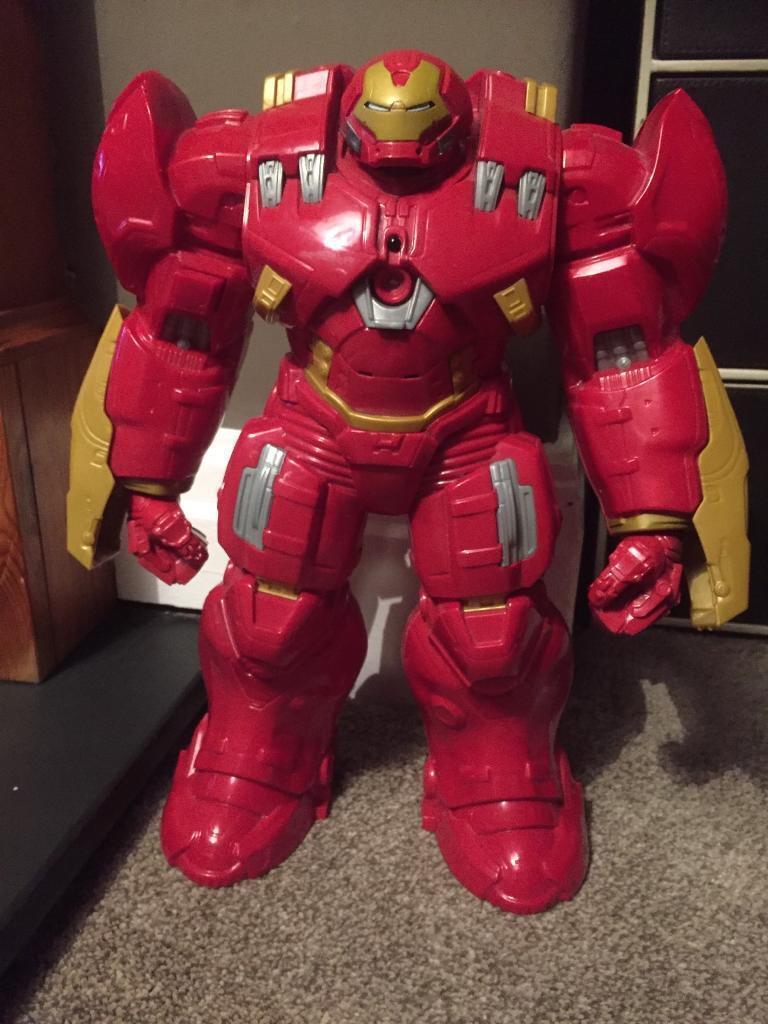 Hulk Buster Titan Hero Marvel Avengers Age of Ultron Interactive figure