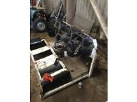 Landrover defender bulkhead And seat box
