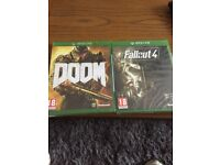 Xbox One Doom And Fallout4