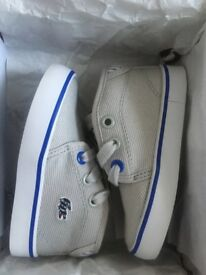 Lacoste toddlers shoes uk size 4