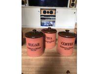 Fortnum & Mason kitchen storage jars