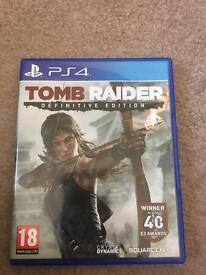 Tomb Raider Definitive Edition £9 PS4