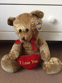 Teddy with tag
