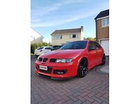SEAT LEON CUPRA R 2004 FSH 77k RED MOT 269BHP EXCEPTIONAL CONDITION FOR YEAR