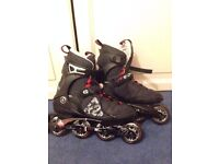 K2 roller blades as new size UK 8