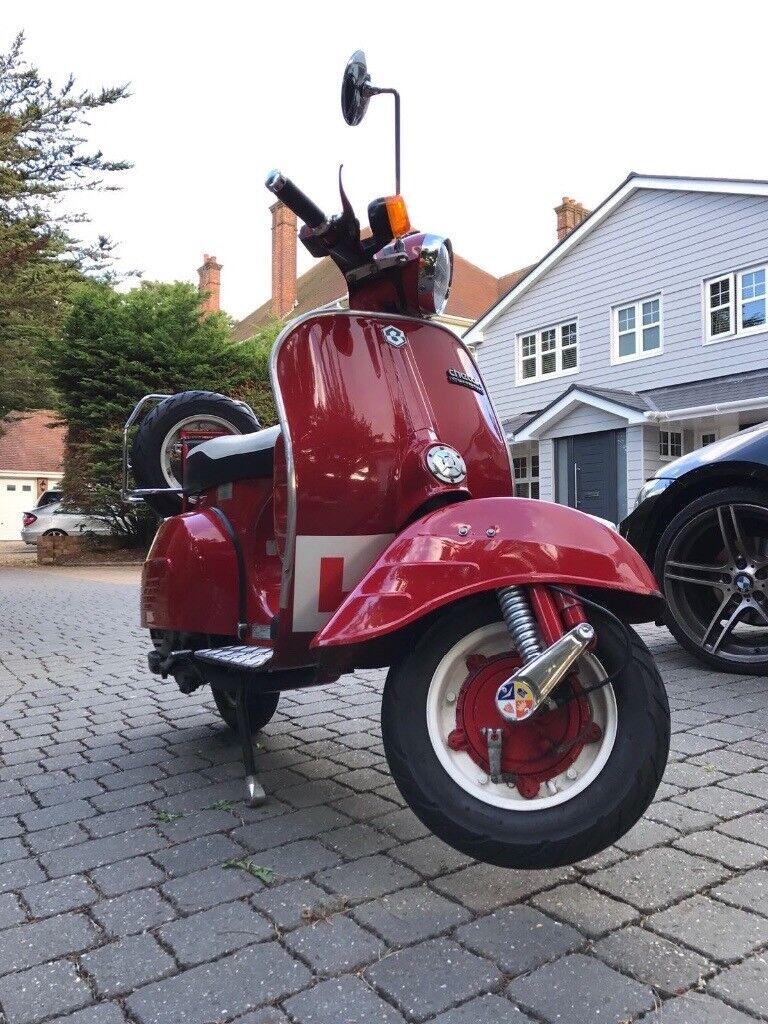 Bajaj Chetak / Indian Vespa Scooter 125
