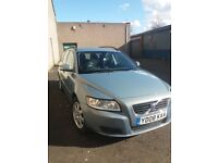 Volvo V50, 08 plate, service history, 12 months MOT, very good condition.