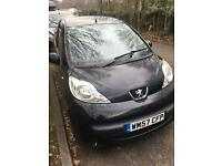 Peugeot 107, 2008, MOT July 2017, 80 000 miles everyday in use, no faults, cheap to insure