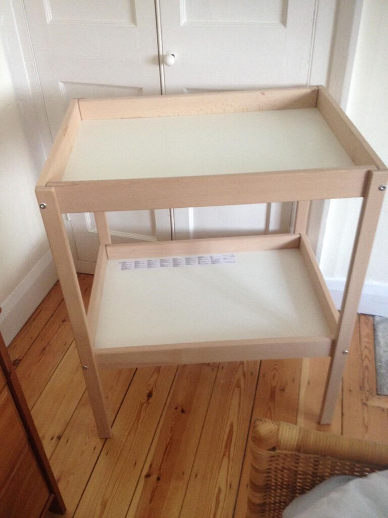 IKEA SNIGLAR Changing table NEARLY NEWin Marston, OxfordshireGumtree - IKEA Changing table SNIGLAR Beech/white. 72x53 cm. Hardly used and as good as new. Smoke free home. Ready for collection