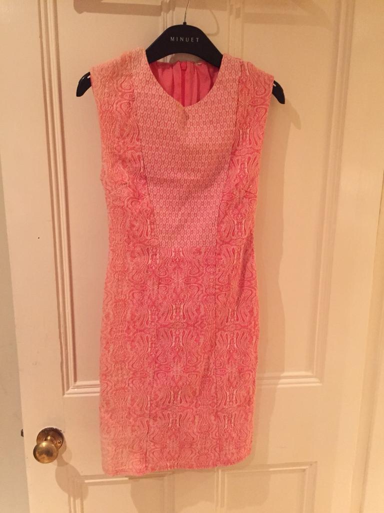 Funky pink dress