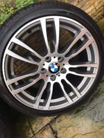 BMW F30,F31 genuine alloys wheels 403 M stile