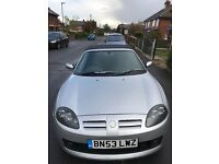 MG TF 135 1.8 in Silver