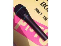 Shure BG 2.1 dynamic microphone .