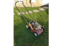 Petrol Mountfield self powered/self moving mower