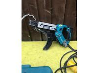 Makita collated screw gun 110v