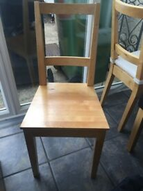 2 x IKEA dining chairs - £8 pair