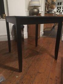 6 Ikea Lerhamn Tables in Black