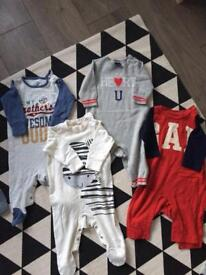 Baby boy bundle 3-6m 88 items